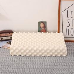 花瓣语 狼牙乳胶枕38*60CM(带内外套) 白色
