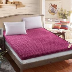 (总)艾尚床垫 法兰绒精致贴身立体床垫