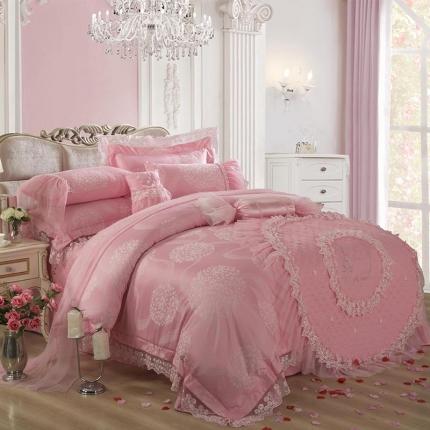 他她之恋 婚庆系列十件套 棉花糖之恋-粉色