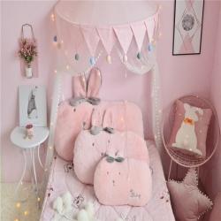 (總)派沃家紡 2019新款歪耳兔兔抱枕
