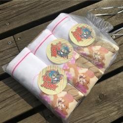 一鸣の猪小妹 童巾猫和老鼠4条装25cm×50cm