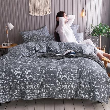 摩妮卡 2019新款全棉轻奢风系列四件套 眠棉