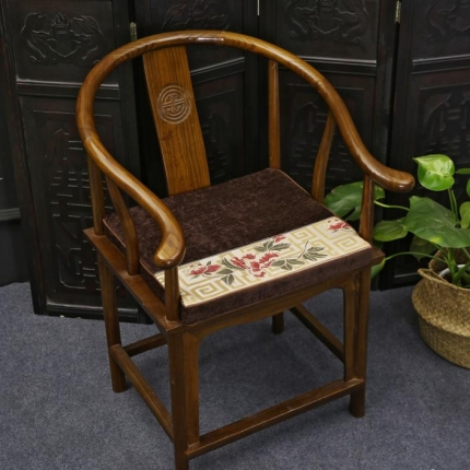 (总)雷晓家纺 秋冬系列红木沙发坐垫