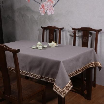 (总)雷晓家居 2019新款中式细棉麻桌布系列