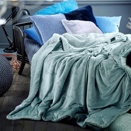 (总)网客家纺 ULTIMATE顶级羊羔绒毛毯升级版