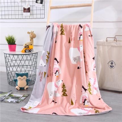 (总)网客家纺 baby blanket双层加厚儿童绒毯