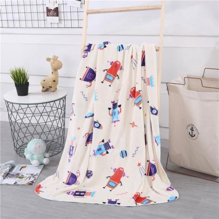 网客家纺 baby blanket双层加厚儿童绒毯 派对