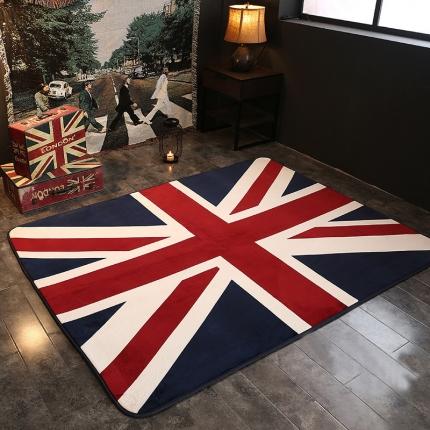 网客家纺 英伦地垫 英国旗