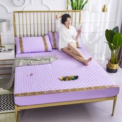 缪斯家居 2019新款莫代尔夹棉软席绿野仙踪系列 木槿紫