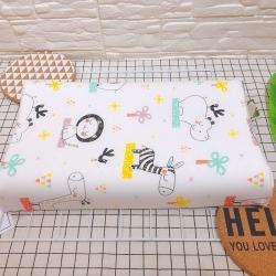 (总)她喜爱枕芯 新品儿童全棉乳胶枕27*45cm