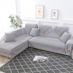(总)启博家纺 2019新款纯色沙发垫