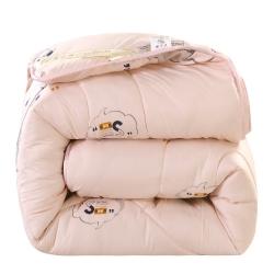 澳洲羊毛被春秋被 19年冬季羊毛被礼品被加厚保暖冬被学生被