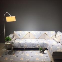 (总)Djs-Home 花卉款全棉沙发垫