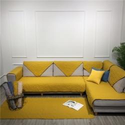 (总)Djs-Home 2019新款纯色水洗棉沙发垫