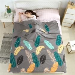 圣佳家纺 便携式酒店纯棉隔脏旅行睡袋出差户外卫生睡袋菲拉叶语