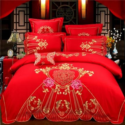 浩情国际 高端婚庆60S长绒棉4-6系列 罗曼罗兰
