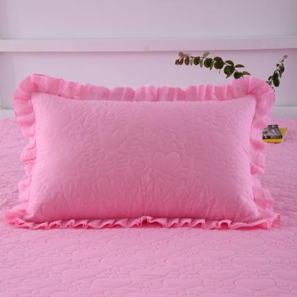 (总)浩情国际 韩版蕾丝公主风系列单人枕套一对