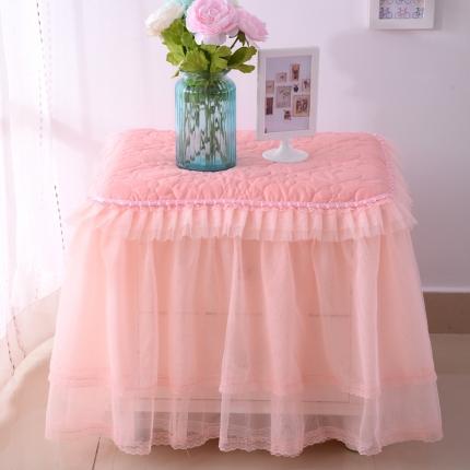 浩情国际 韩版蕾丝床头柜子罩系列玉色一只