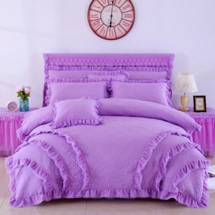 浩情国际 韩版蕾丝4-6-7件套阳光心情系列 紫