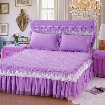 浩情国际 8月5号唯美款系列-床裙系列 紫