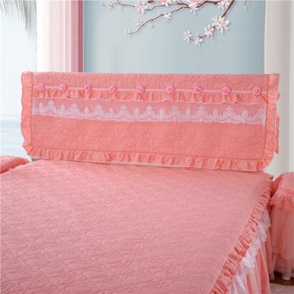 浩情国际 8月4号升级版玫瑰款床头罩系列 玉