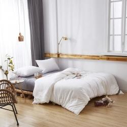 桂雅居家纺 有氧蛋白快眠被春秋被 白色