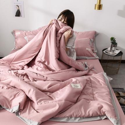 (总)意尚风情 2019年新款水洗天丝夏被四件套床裙款