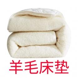 罗琳丝床垫 2021新款短毛羊毛床垫