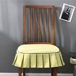 千彤沙发垫 新款美式椅垫 盎然纯色