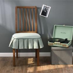 千彤沙发垫 新款美式椅垫 郁汀纯色