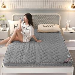 多詩曼 2019新款立體加厚床墊 4D灰色