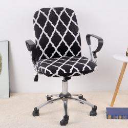 福巢家纺 2019新款BTC02分体电脑椅办公椅子套 黑色