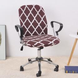 福巢家纺 2019新款BTC02分体电脑椅办公椅子套 咖啡