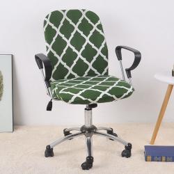 福巢家纺 2019新款BTC02分体电脑椅办公椅子套 墨绿