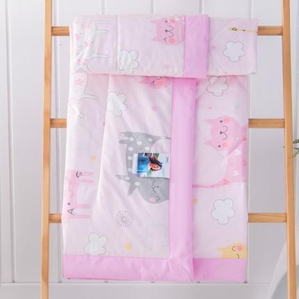 夏季幼儿园被子纯棉儿童被子宝宝空调被婴儿盖被小棉被薄夏凉被