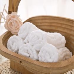 四层水洗纱布口水巾5条装 30*30cm