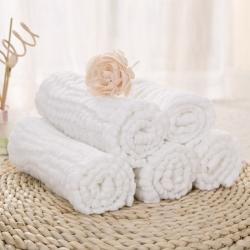 四层水洗纱布尿布5条装 70*50cm