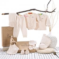 纯棉婴儿衣服新生儿礼盒套装0-12个月春秋冬季刚出生满月宝宝