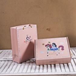 麥吻 新生兒彩棉十件套 彩棉床品十件套 浴巾禮盒精美包裝袋