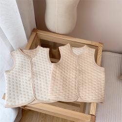 (總)麥吻 有機彩棉空氣層馬甲