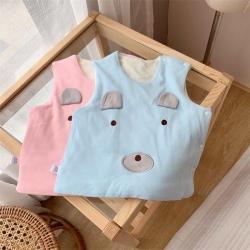 (總)麥吻 小熊刺繡馬甲