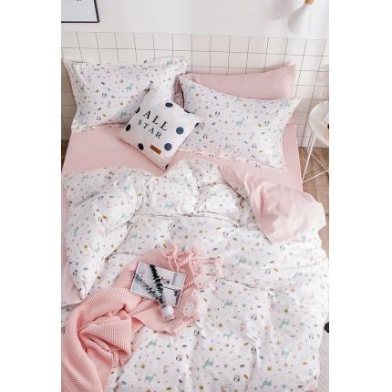 我心家纺 2018ins风套件七月新花系列床单款 巴洛米