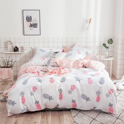 我心家纺 2018ins风套件七月新花系列床单款 苏格拉