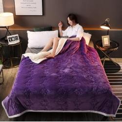 【四季备货】法兰绒毛毯拉舍尔毛毯被子复合毯子床单床盖枕头床裙