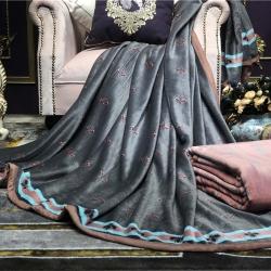 总)慕莎家纺法莱绒毛毯外贸云毯拉舍尔毛毯云毯金貂绒水晶绒毛毯