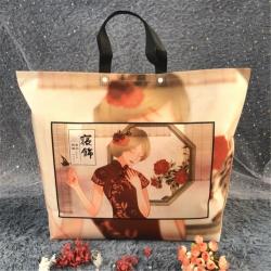 九二包装 夏被暖绒套件包装扣子款48*60*11.5美女蝴蝶