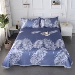 (总)暖季家纺  2019新款冰丝凉席三件套床单款热销款