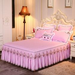 好儿喜家纺 沉鱼落雁系列单床裙 粉色