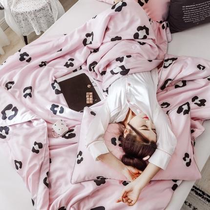 KA家纺 2019新款天丝夏被三件套 迷尚粉