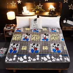 星菲家紡 2019新款法萊絨床墊床護墊 米老鼠